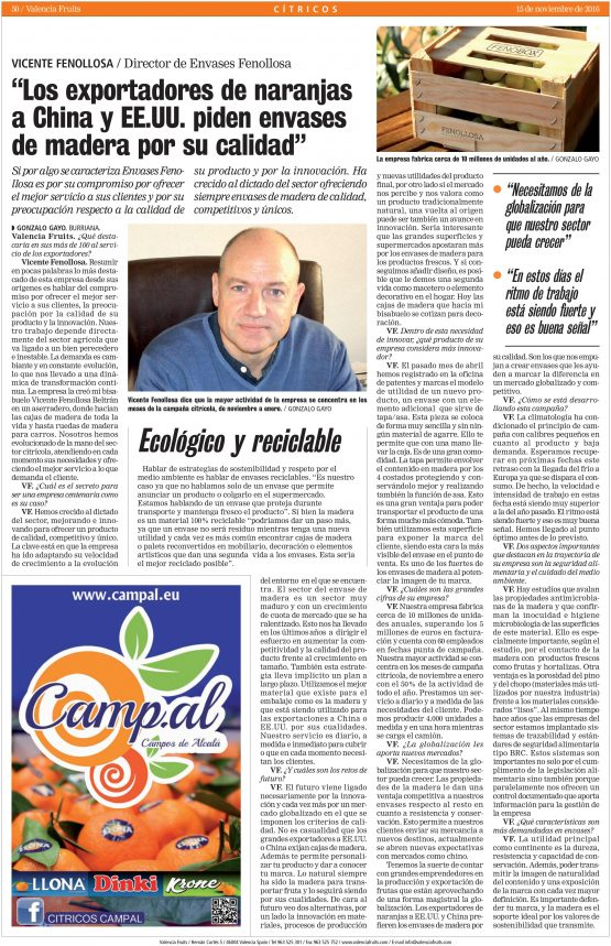 Entrevista Vicente Fenollosa